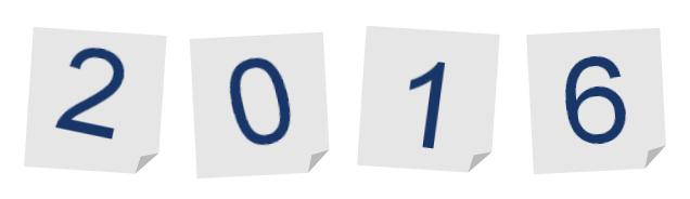 Programmation de l'année 2016